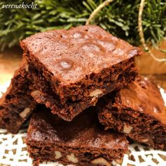 Espresso Brownies, Cake & Co, Soul Food, Lunch Box, Sweets, Snacks, Dishes, Breakfast, Easy