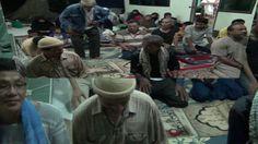 الصلاة في مخيم فجر المهديين ب تايلند  لانصار الامام المهدي