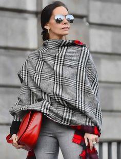 Как подобрать теплый гардероб для женщин 40+? (18 фото образов)