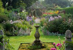 Clive Nicholas garden photo  Wollerton Old Hall