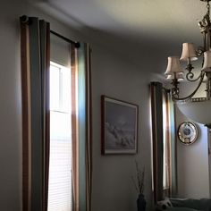 Drapes create a warm and inviting feel and offer both quality and stylish décor to your home. #BudgetBlinds