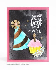 MCT – 51st Edition Release Blog Hop – Best Day Ever « Todo con Papel