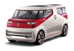 Suzuki Air Triser concept-Minivan to be unveiled in Tokyo Mini Vans, Kei Car, Volkswagen, Concept Cars, Honda, Automobile, Monospace, Hamamatsu, Tokyo Motor Show