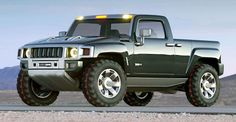 http://chicerman.com  carsthatnevermadeit:  Hummer H3T 2002. A concept which previewed Hummers H3 based pick-up  #cars