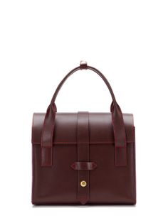 North Moore Leather Satchel by IIIbeca at Gilt