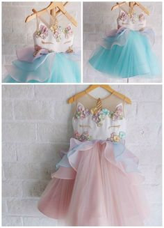 How cute are these UNICORN DRESSES?!! Made by Honey Bee Kids--> https://www.instagram.com/p/BbLu1ItAMaB Find more unicorn dresses here (affiliate link)-->http://shopstyle.it/l/uwwF