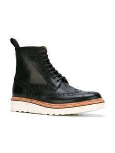 Grenson 'Fred' brogue boots