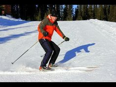V1-Offset Technique Explained (Excerpts from Full Course) - YouTube Colorado Winter, Skiing Colorado, Winter Fun, Winter Snow, Lake Tahoe Skiing, Jackson Hole Skiing, Nordic Skiing, Cross Country Skiing, Estes Park