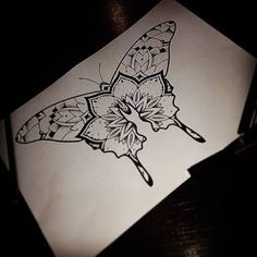 Image result for butterfly mandala tattoo