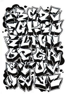 This is a sketch graffiti alphabet. Examples to create graffiti art on the walls. Graffiti alphabet uppercase letters from A to Z. Graffiti Text, Street Art Graffiti, Best Graffiti, Graffiti Tagging, Graffiti Drawing, Graffiti Artists, Graffiti Names, Graffiti Designs, Graffiti Alphabet Styles