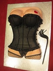 sexy corset birthday cakes | Sugar Me! Custom Cakery Photo Gallery - a set on Flickr