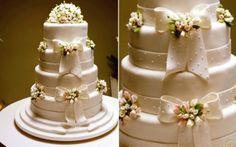 Bolos de casamento decorados: dicas, 50 fotos - Casa&Festa