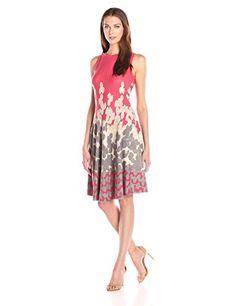 NIC+ZOE Women's Posie Twirl Dress, Multi, Small