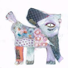 Flowered Elephant | Carla Sonheim