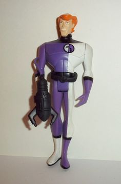 justice league unlimited ELONGATED MAN with WEAPON complete mattel dc universe animated action figure for sale to buy jlu
