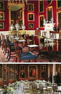 The Great Room, Althorp... From... http://habituallychic.blogspot.com/2011/04/look-at-althorp.html