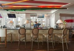 Bar at Fresh American Bistro at Solé on the Ocean
