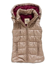 Safari Hooded Puffer Vest