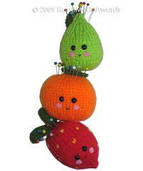 Ravelry: knit pincushions
