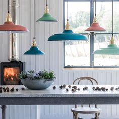 Sherbet Pendant Shades - View All Lighting - Lighting - Lighting & Mirrors Kitchen Pendant Lighting, Kitchen Pendants, Glass Pendant Light, Pendant Lights, Pendant Lamps, Mini Pendant, Chandeliers, Chandelier Ceiling Lights, Contemporary Light Fixtures