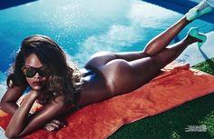 Rihanna nue pour le magazine ''Lui'' !!! #Rihanna
