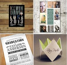 4 Nontraditional Graduation Announcements from Etsy artists. | Practical College Moms