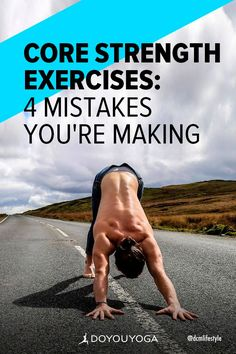 4 Mistakes to Avoid in Core Strength Exercises #pilates #corestrength #yoga Core Strength Exercises, Strength Workout, Abdominal Exercises, Abdominal Muscles, Back Strain, Lower Back Muscles, Core Work, Pilates Instructor, Tight Hips