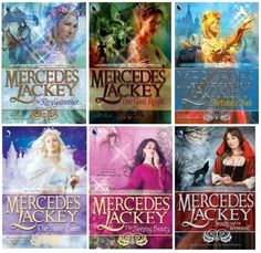 """30 """"Guilty Pleasure"""" books that are in face awesome - I love Mercedes Lackey and the 500 Kingdoms, I should try some of the others..."""