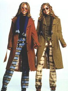 Mary-Kate Olsen in Winning London Fashion Moda, 90s Fashion, Fashion Outfits, London Fashion, Ashley Movie, Olsen Twins Style, Winning London, A New York Minute, Early 2000s Fashion