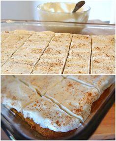 60 Calorie Healthy Pumpkin Bars With A Vanilla Bean Cream Cheese Frosting! (46…