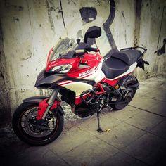 Ducati Multistrada 1200 motorcycle Monserrat BuenosAires Argentina