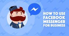 How To Use Facebook, Facebook Marketing, Social Media Marketing, Online Marketing Strategies, Digital Marketing Strategy, Facebook Messenger, Business Branding, Being Used