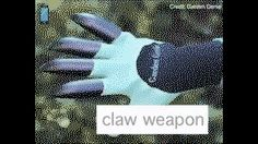 Claws for fighting! (then bury body)