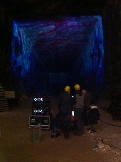 600 meters underground