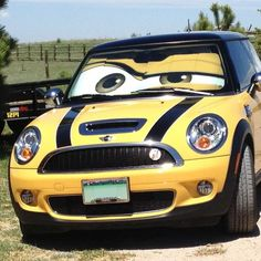 Mini Cooper Eyes Sunshade - Eyeshade