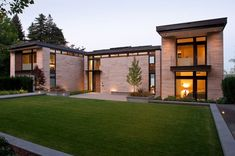 Washington Park Hilltop Residence Incorporates Fluid Form With Contemporary Charm!