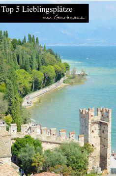 Heute zeige ich euch meine Top 5 Lieblingsplätze am Gardasee in Italien. Welche Plätze ihr nicht verpassen solltet, das erfährt ihr heute. Travel Inspiration, Reisen, Hotel Reviews, Reiseberichte, Travel Blog, Travel Blogger, Reiseblog, Lifestyle Blog