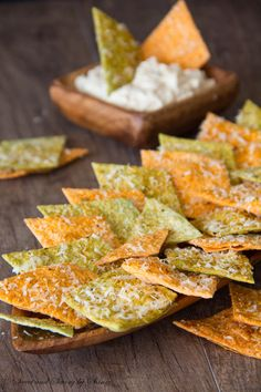 Homemade Spiced Tortilla Chips ~Sweet and Savory by Shinee