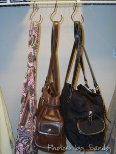 Purse Storage In The Closet. | For The Home | Pinterest | Purse Storage,  Storage And Organizations