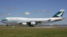 Photo of B-HUG - Boeing 747-467 - Cathay Pacific Airways