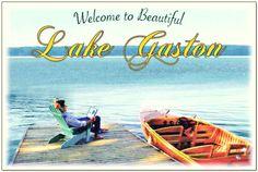 Nothing better than Lake Gaston