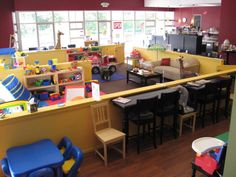 NEED this to open near me- a kid friendly coffee shop- mom drinks, kids play = HEAVEN!