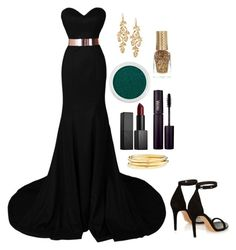 """""""Red Carpet"""" by fullmoonandstars on Polyvore featuring Mode, Isabel Marant, Stella & Dot, Bare Escentuals, NARS Cosmetics, INIKA, River Island, Jules Smith, RedCarpet und gold"""