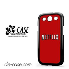 Netflix DEAL-7635 Samsung Phonecase Cover For Samsung Galaxy S3 / S3 Mini