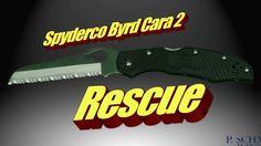 Spyderco Erwachsene Messer Byrd Cara 2 Rescue Klappmesser schwarz SPY-BY17SBK2  4-zollige gänzlich hohlgeschliffene Sheepfoot-Klinge aus 8Cr13MoV Stahl mit Spyder-Edge-Schliff Griff aus glasfaserverstärktem Nylon (FRN), der eine bidirektionale Textur zwecks verstärkter Griffhaltung aufweist David Boye Kerbenrückverschluss Dent-Backlock sichert die Klinge verhindert ein versehentliches Schließen