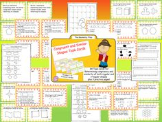Great for reviewing geometry skill of congruent and similar shapes!