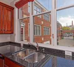 Not a bad view for washing dishes! #rva #kitchen
