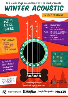 S A Guide-Dogs Winter Acoustic Music Festival | Two Dads and a Kid