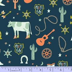 9646-0150, R37 Not So Wild West, Fabric Gallery, Marcus Fabrics