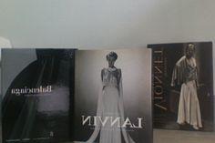 livres de mode: Lanvin, Vionnet et Balenciaga